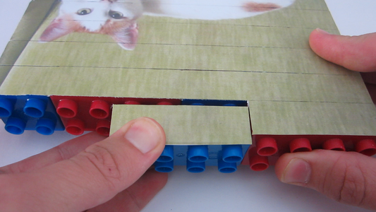 Cut Out the Individual Block