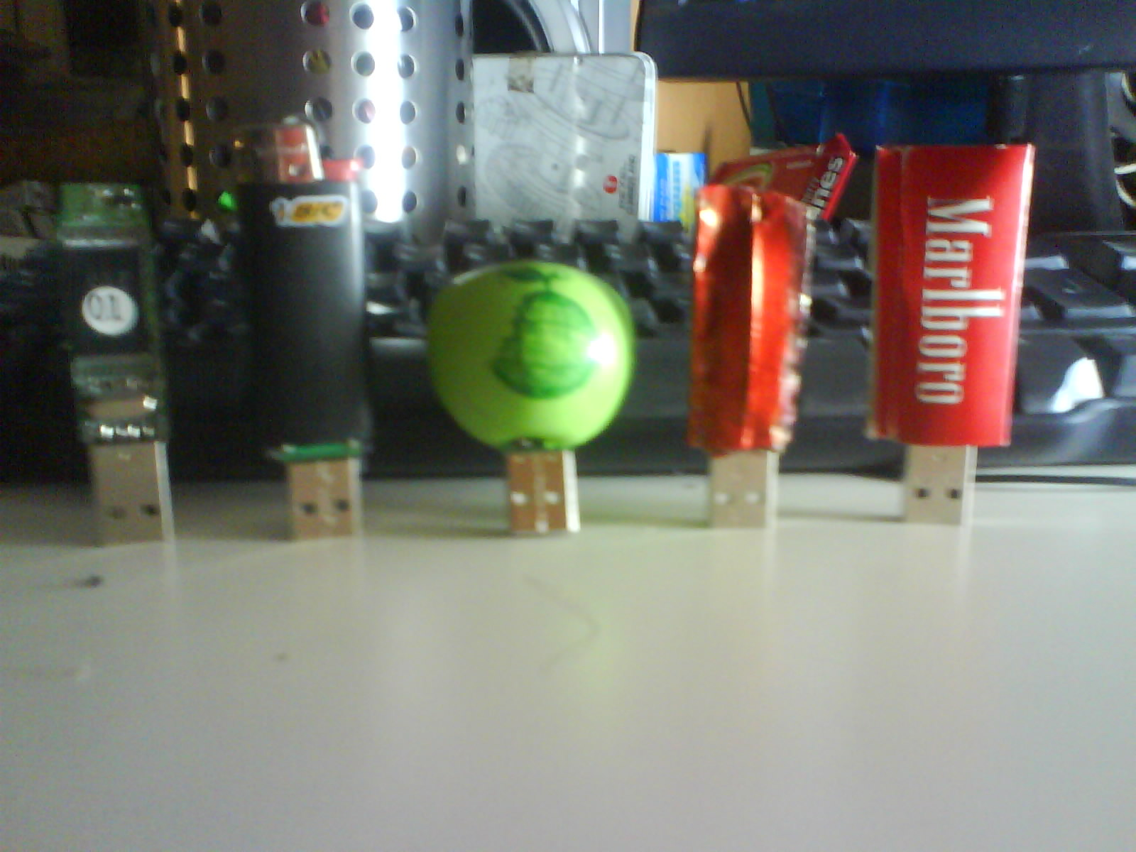 Picture of Many Flash Drive Casings, Some Are Worth a Look