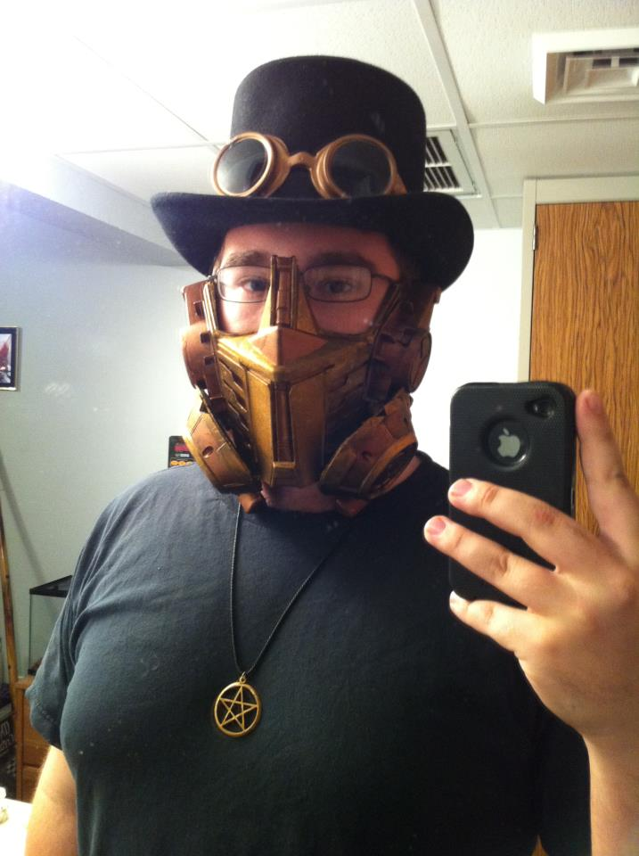 Picture of Steampunk Gas Mask