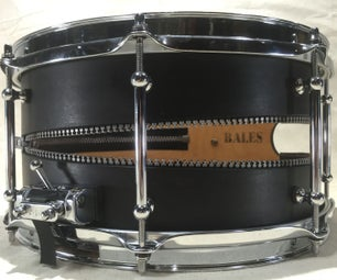 The Zipper Snare Drum