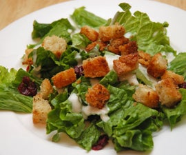 Liven Up Boring Salads With Homemade Croutons