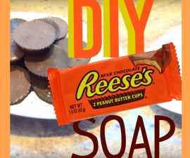 DIY REESE'S PEANUT BUTTER CUPS SOAP!!