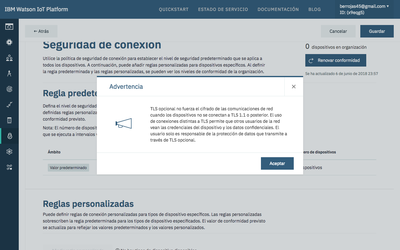 Picture of Configurando La Seguridad