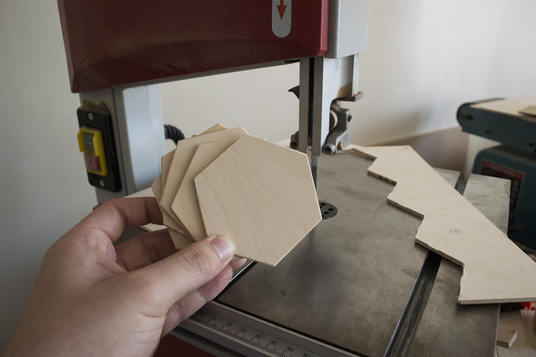 Picture of Cutting Hexagons