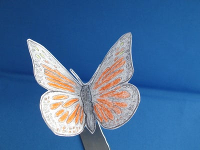 Color Pencil Wings With Magnet Mount