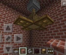 Ceiling Fan In Minecraft PE