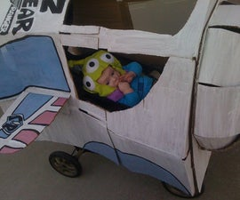 Buzz Lightyear's Space Ship ride
