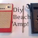 DIY Beach Amp! (From old pocket radio)