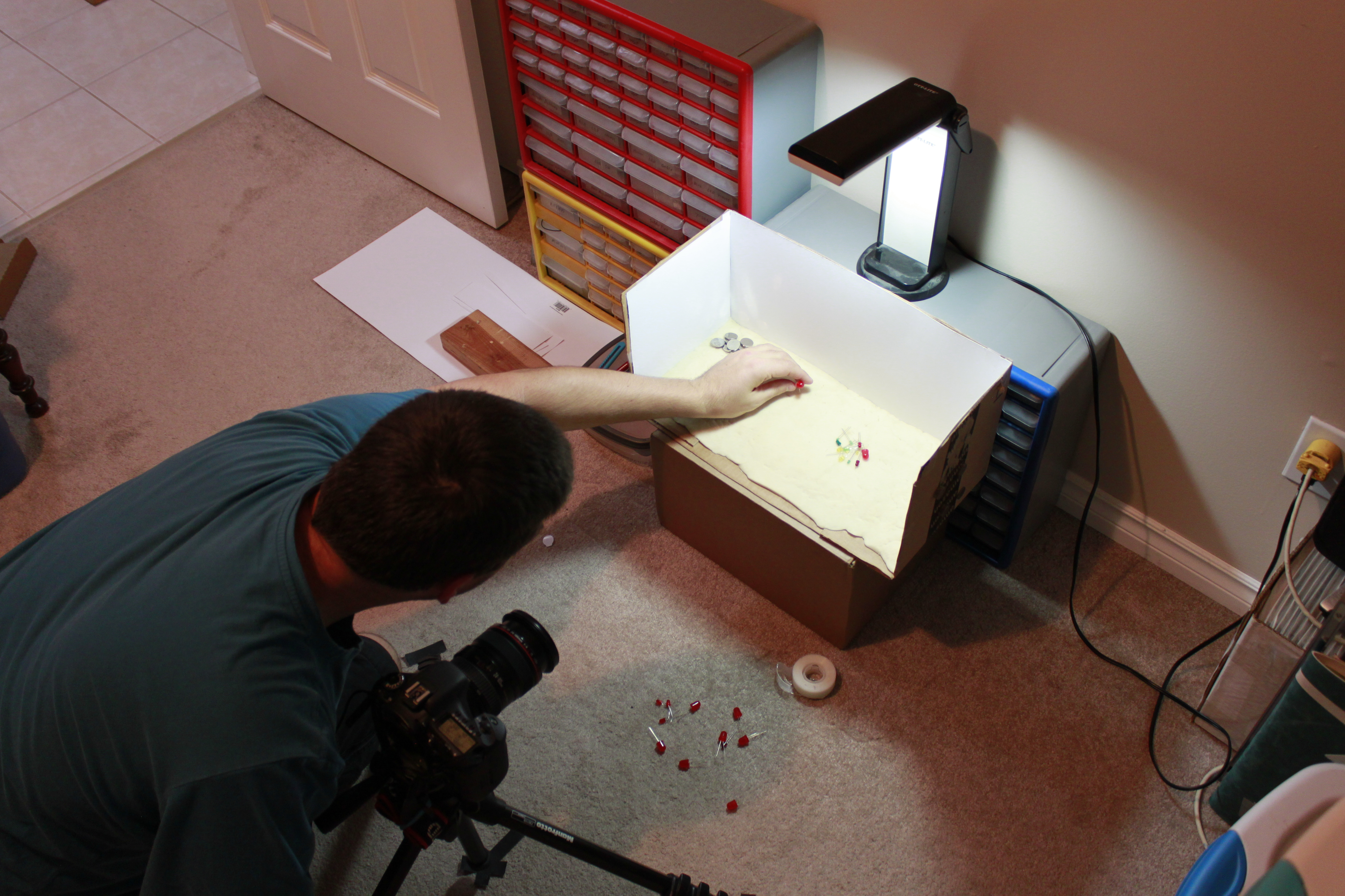 Picture of Making a Stop Motion LED Throwie