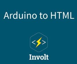Serial communication between Arduino, HTML & Chrome