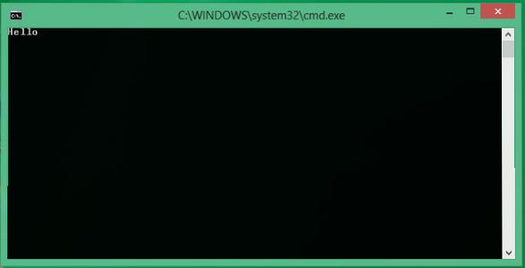 Open the Batch File