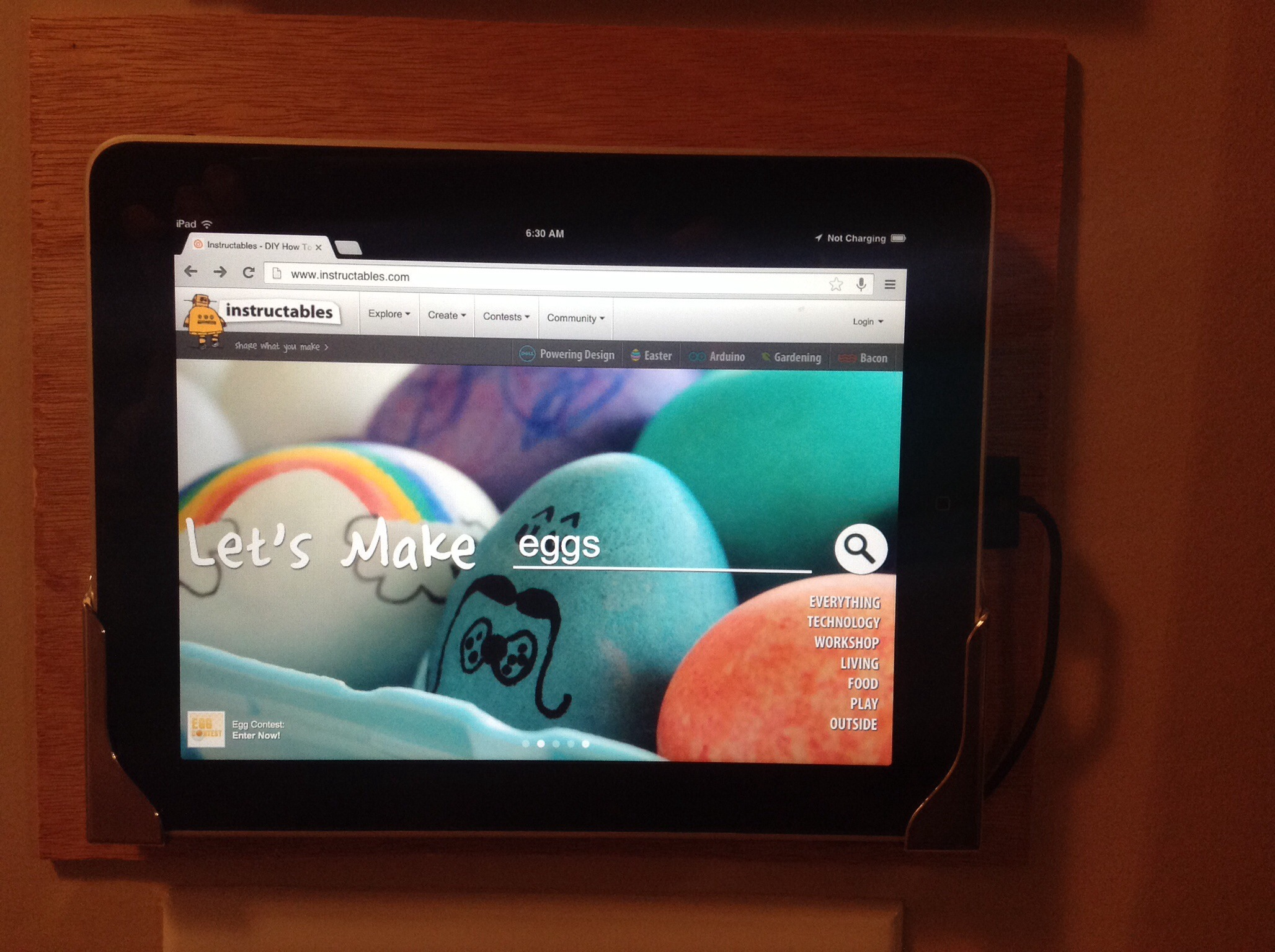 Picture of IPad Kiosk