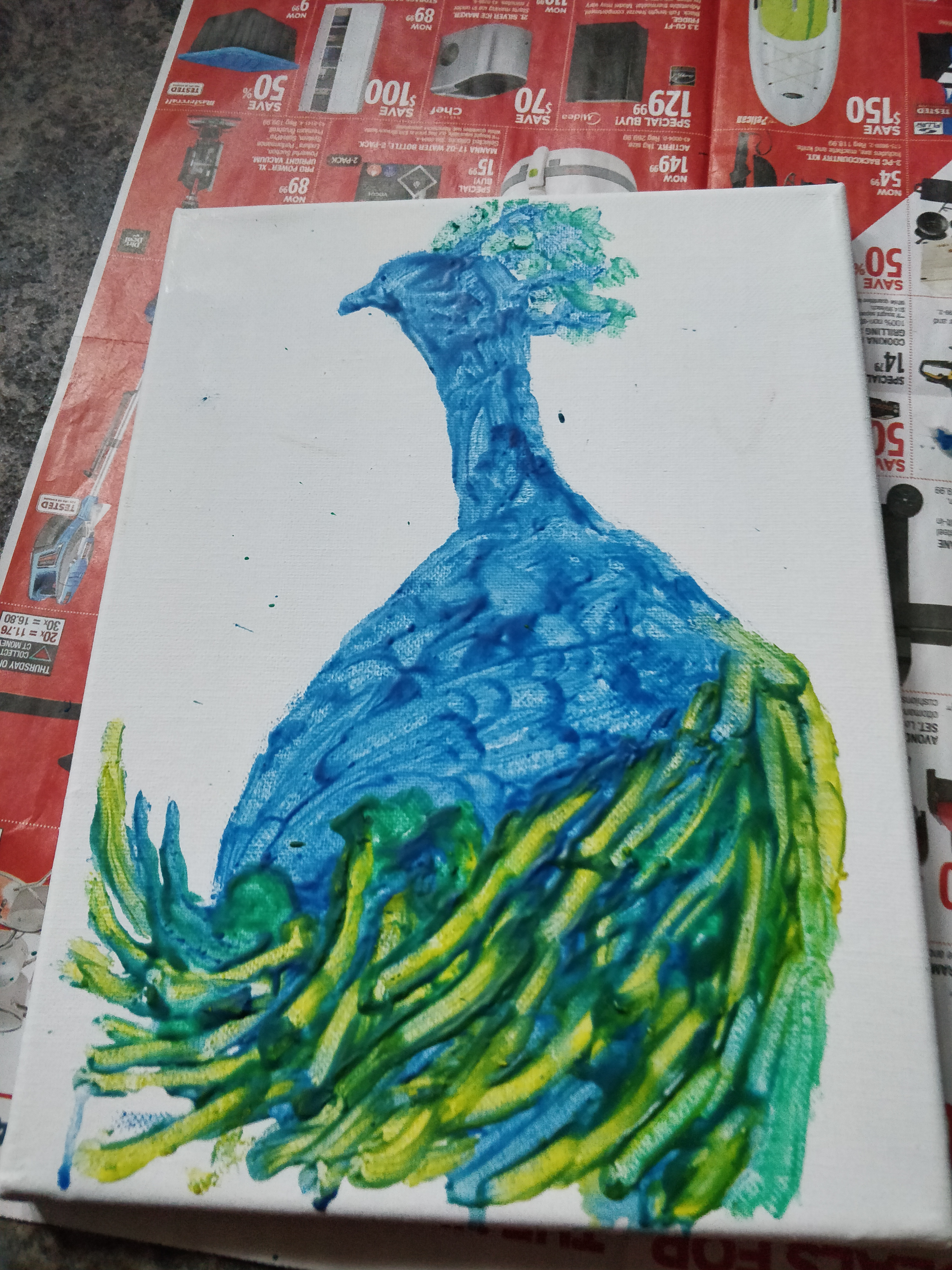 """Picture of """"Draw"""" Draw Feathers"""