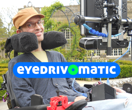Eye controlled wheelchair!