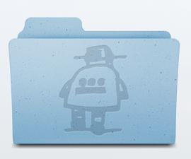 Custom Mac Folder Icons in Photoshop Elements