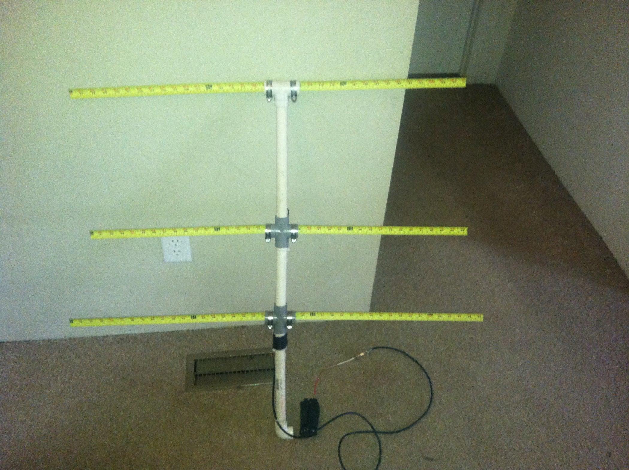 2 element beam 6 meters antenna plans t