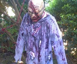 Realistic Halloween Dead Man Prop