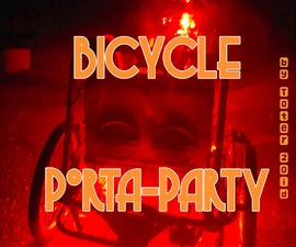 Bicycle Porta Party