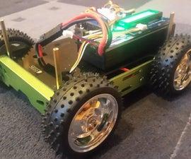 Arduino 101 BLE Rover