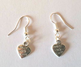 Earings - Made with Love