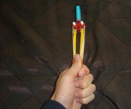 The D-Frag knex grenade