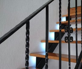 Stair Lighting  With Motion Detection and Following Lights