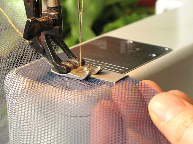 Picture of Sewing the Bag Closed