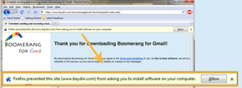 Picture of Installing Boomerang for Gmail