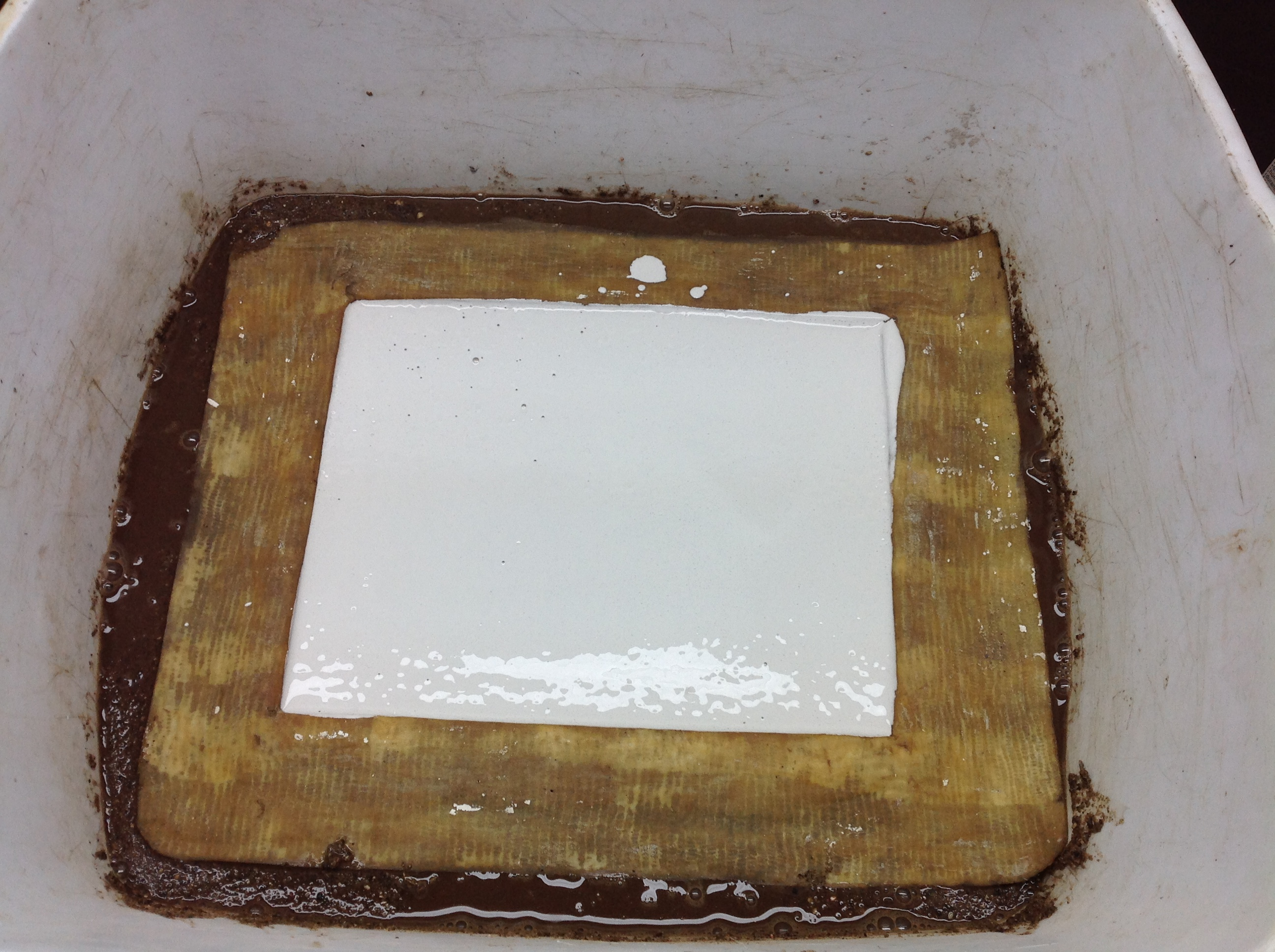Picture of Mix Up the Plaster and Pour