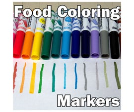 Food Coloring Markers