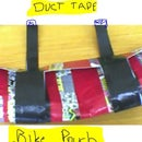 How to make a duct tape bike pouch
