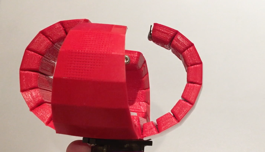 Print-in-Place Robotic Gripper