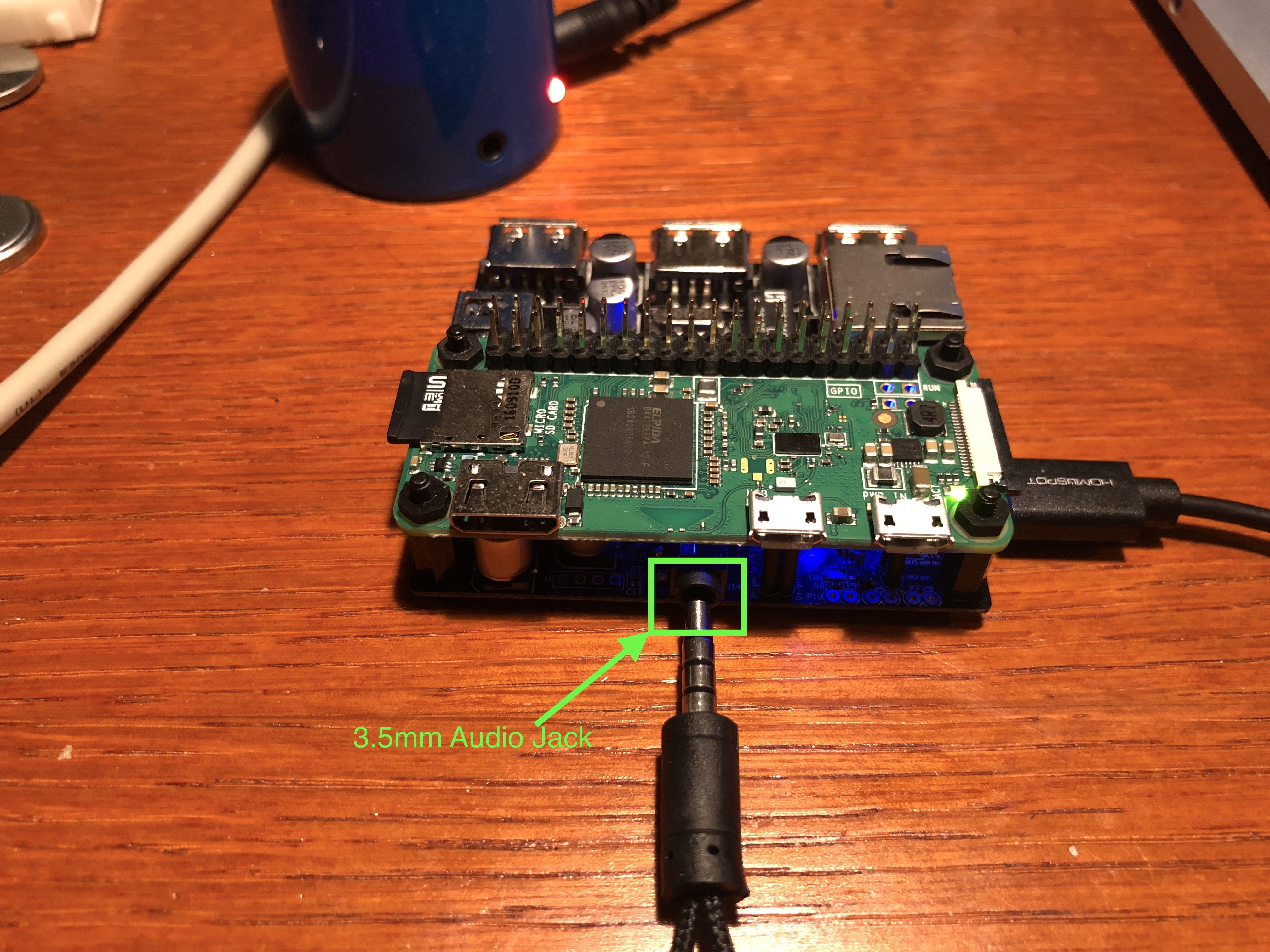 Picture of Setup Your Pi and Docking Hub