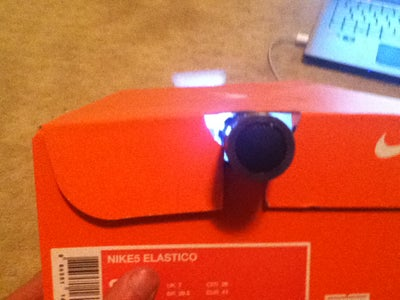 Step: 2 Put in Light and Cut Box