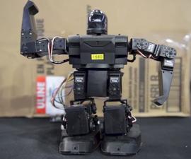 Humanoid Robot Mimics Human
