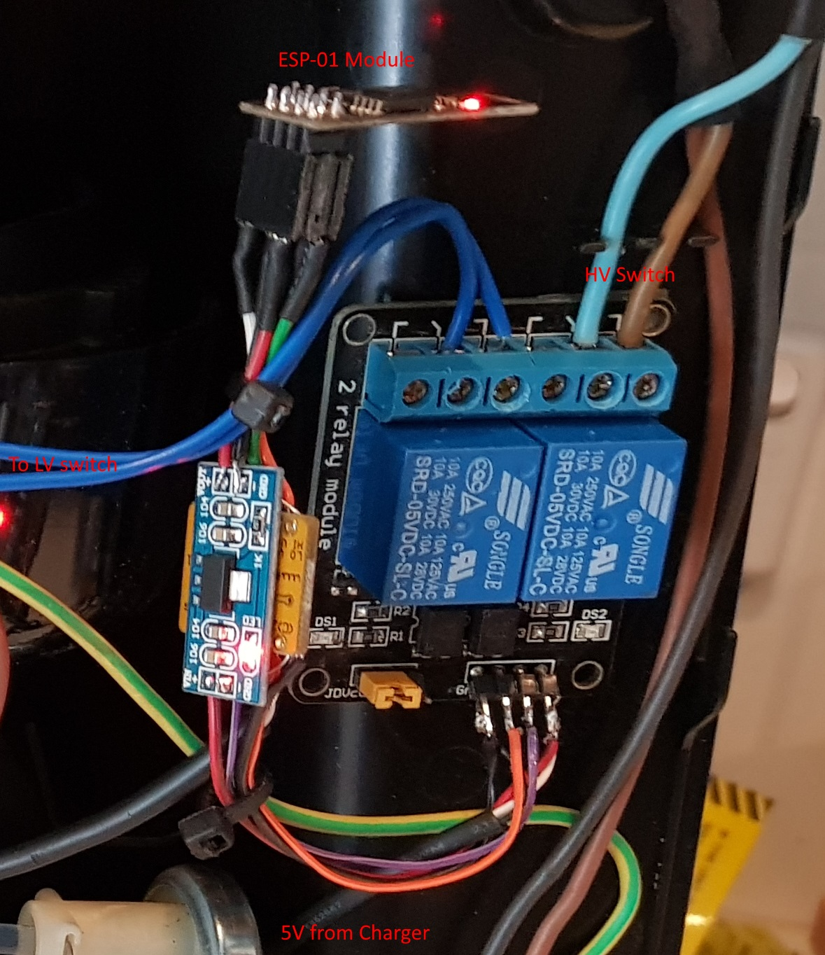 Picture of Wiring the Logic Side