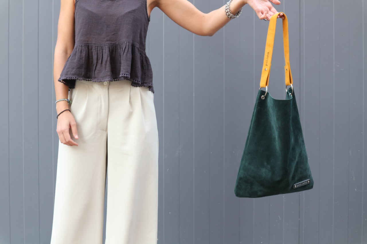 Picture of Suede Leather Tote Bag