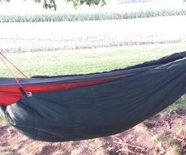 DIY Hammock Underquilt/Sleeping Bag