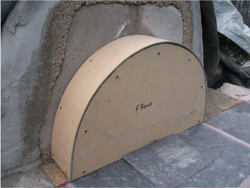 Picture of Front Arch Form.