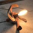 Simple DIY Industrial Style Lamp