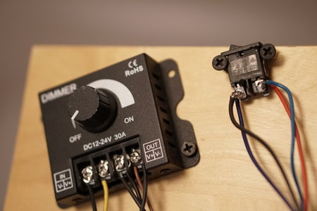 Building: Attach PSU, Controls and Mounting Solution