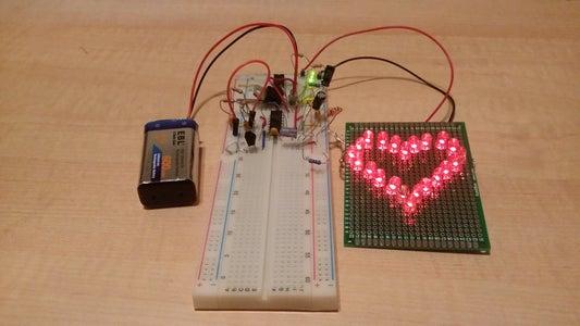 Assemble Your Heart Beat Indicator Circuit