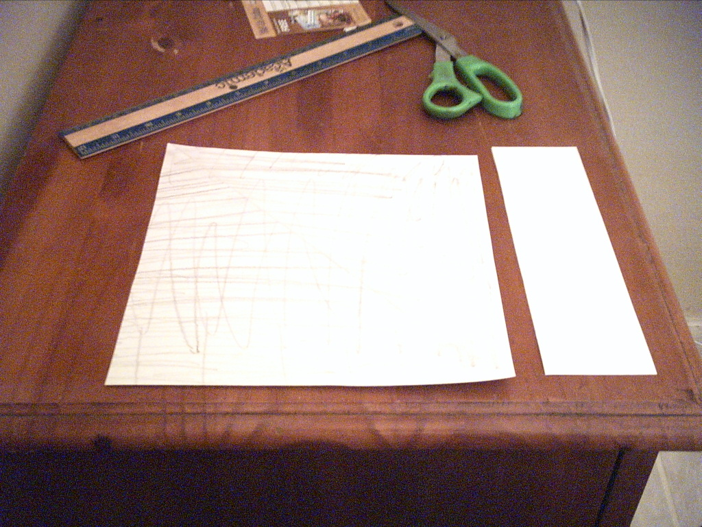 Picture of If You Don't Have Square Paper ...
