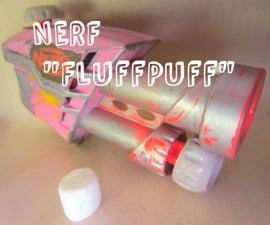 NERF FluffPuff Marshmallow Launcher