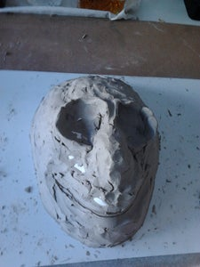Starting the Clay Sculpture.