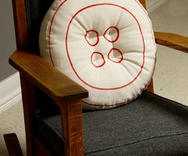 Ginormous Button Pillow