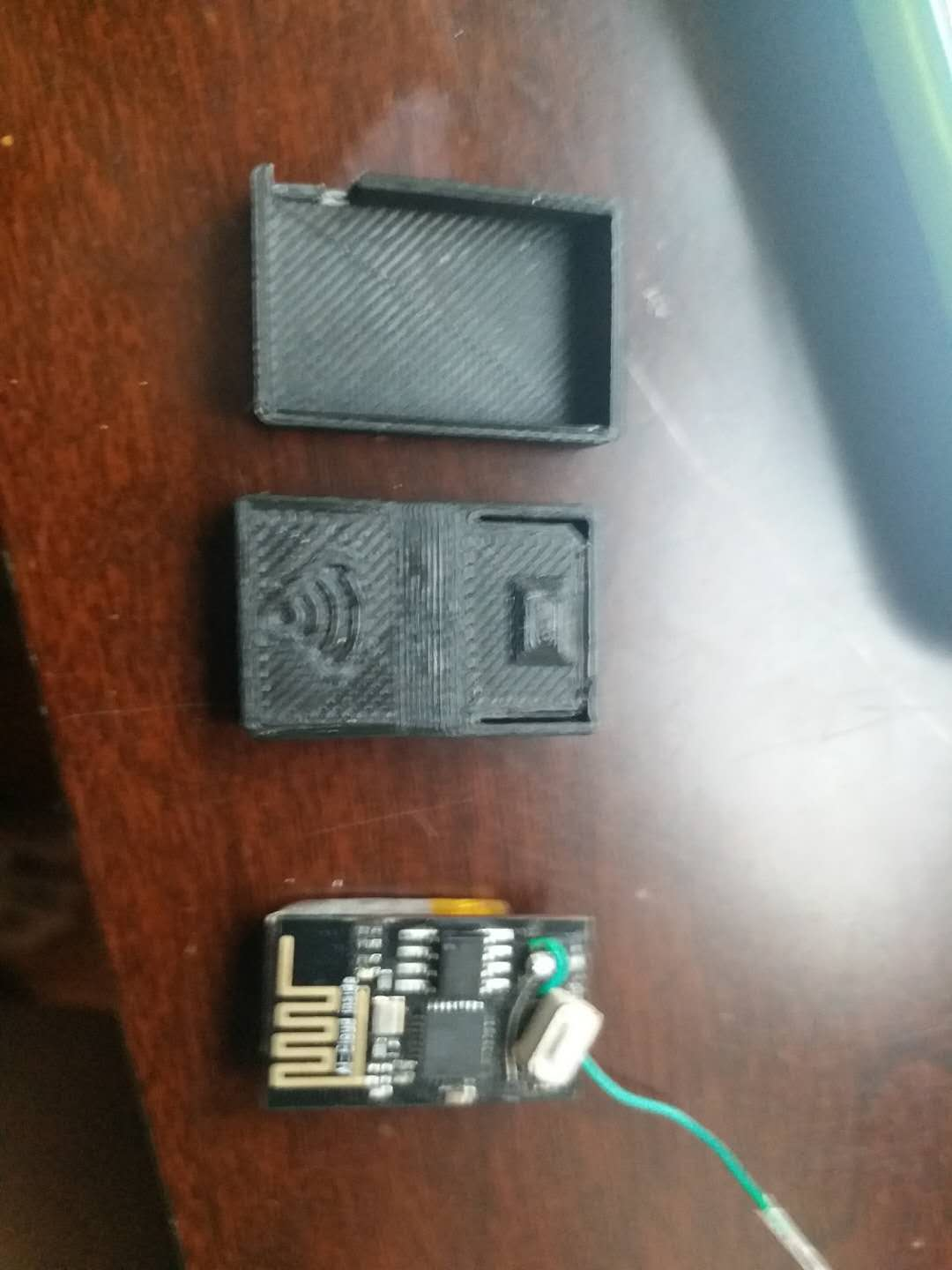 Picture of Update: 3D Printed Case