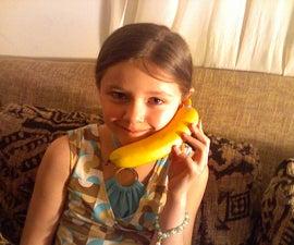 Bluetooth Banana Phone Wireless Handset