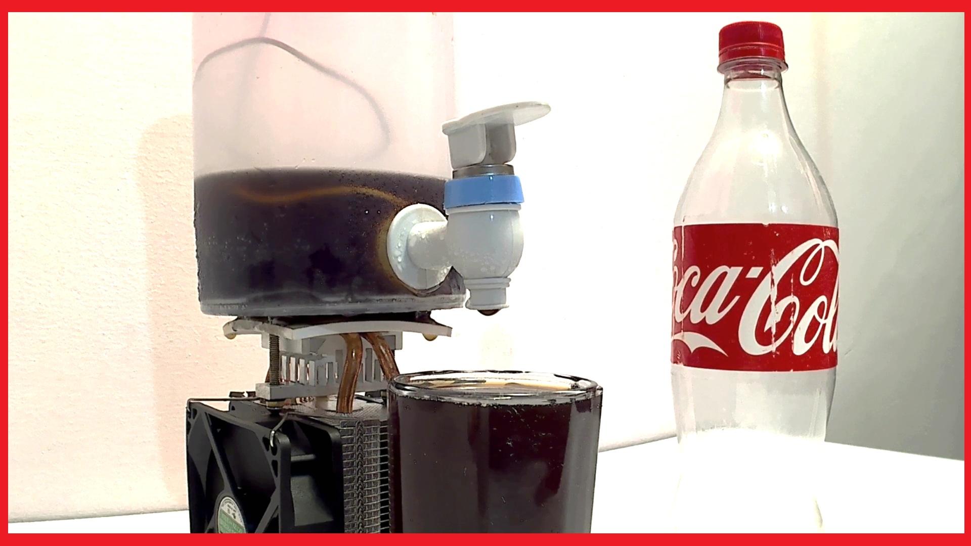 Picture of How to Make Coca Cola Soda Cooler Dispenser Fountain Machine