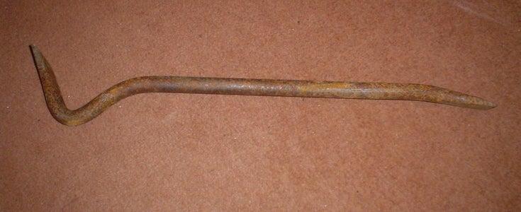 Refurbish a Rusted Crowbar